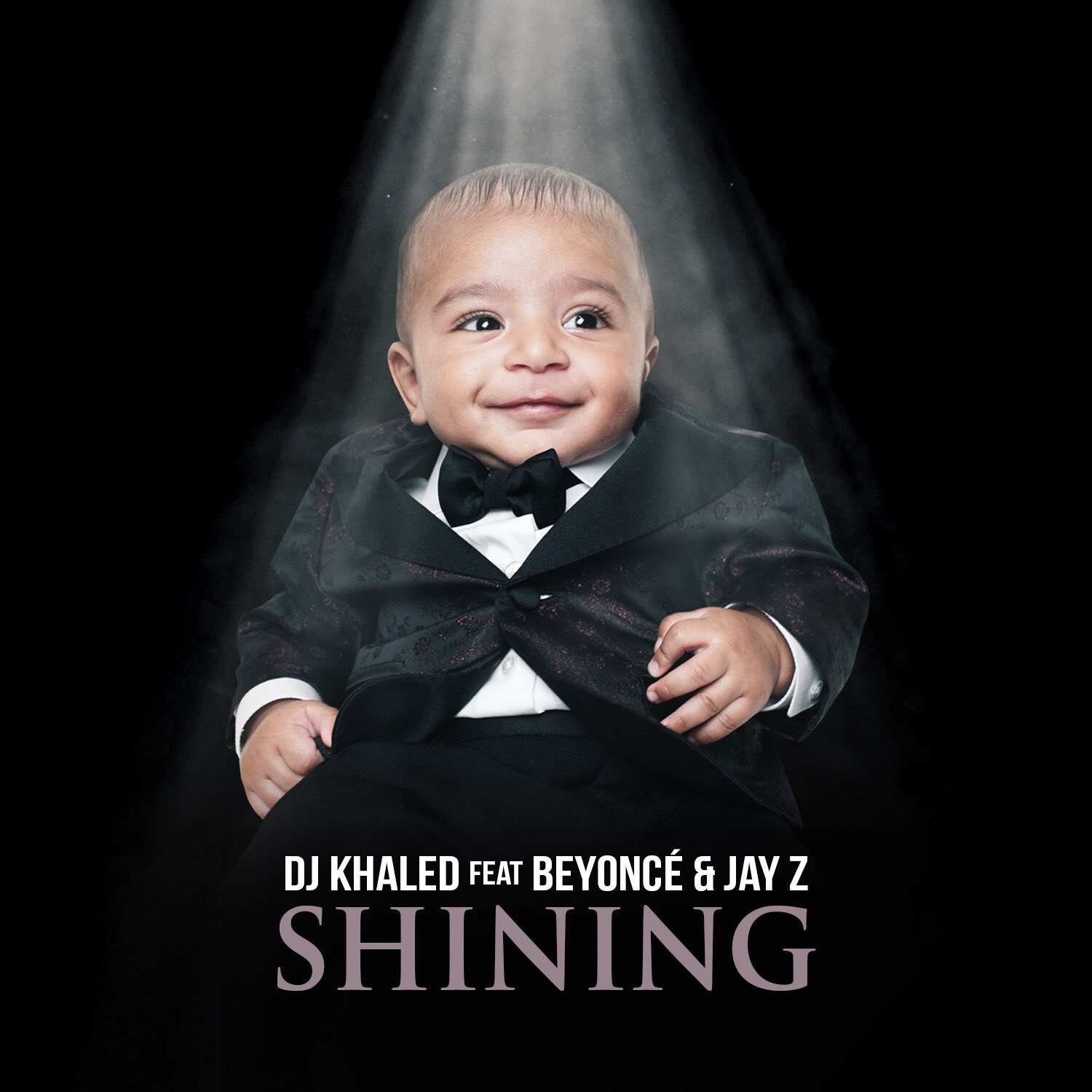 @djkhaled's new single 'Shining' feat. @beyonce & JAY Z Is available now! New Album #GRATEFUL Soon Come https://t.co/IZFLMjQq6E