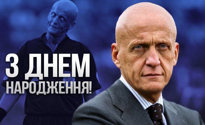 Happy birthday, Pierluigi Collina!  Buon compleanno, Pierluigi Collina!