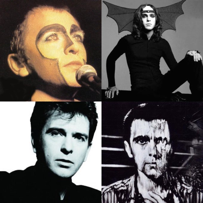 My hero, Peter Gabriel . Happy Birthday !
