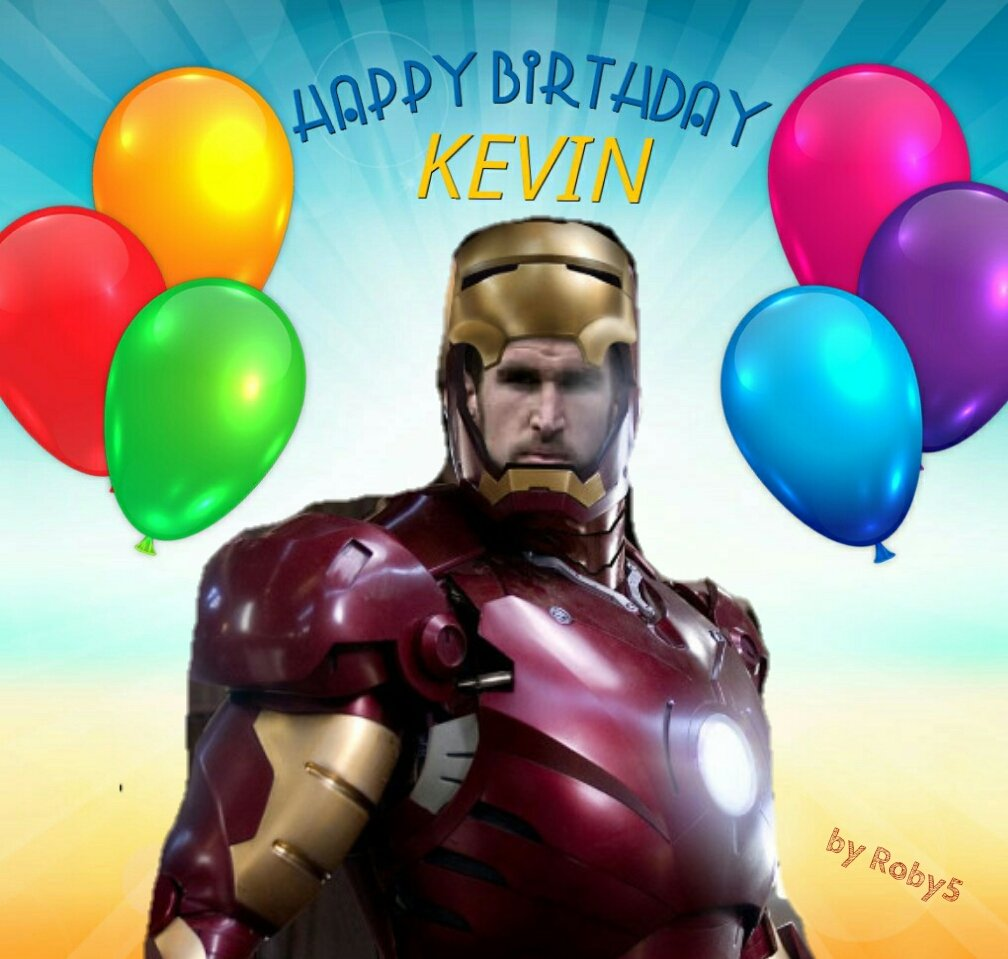 Happy Birthday Kevin  by Roby5
