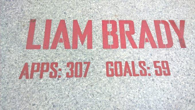 Happy birthday to the legend that is Liam Brady ... maestro