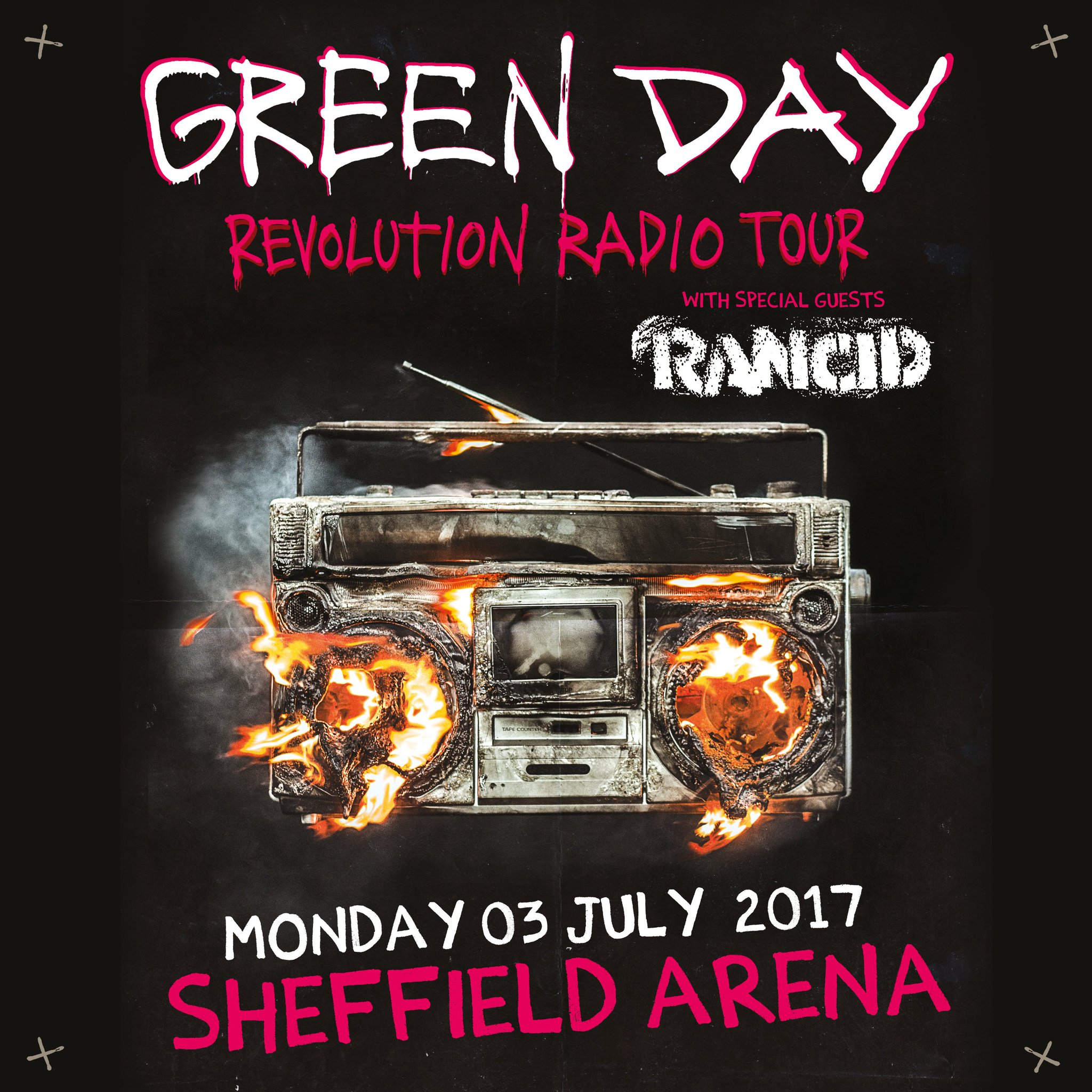 Sheffield Arena, UK - Monday 03 July 217  Tickets on sale 9am Friday 17th Feb: https://t.co/hFdA9PgibH https://t.co/nAHSQWbLdm