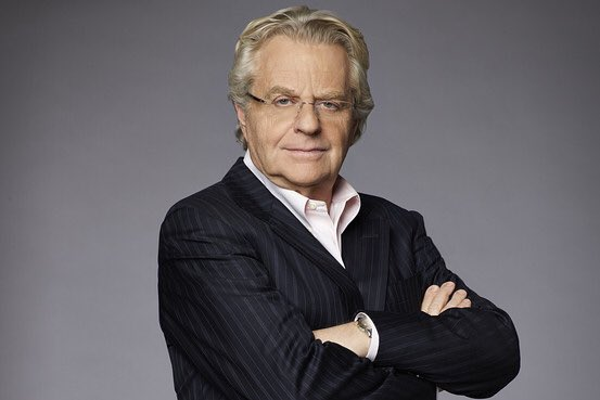 Happy Birthday to shock TV host Jerry Springer