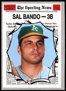 Happy 73rd Birthday to great Sal Bando!!!
