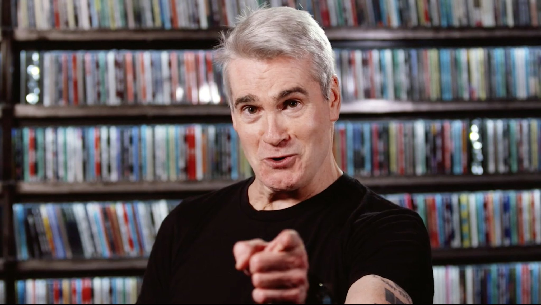 Happy Birthday to Henry Rollins.
