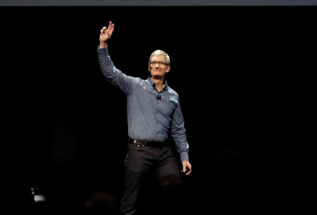 Apple's Tim Cook says this technology could have as big an impact as the