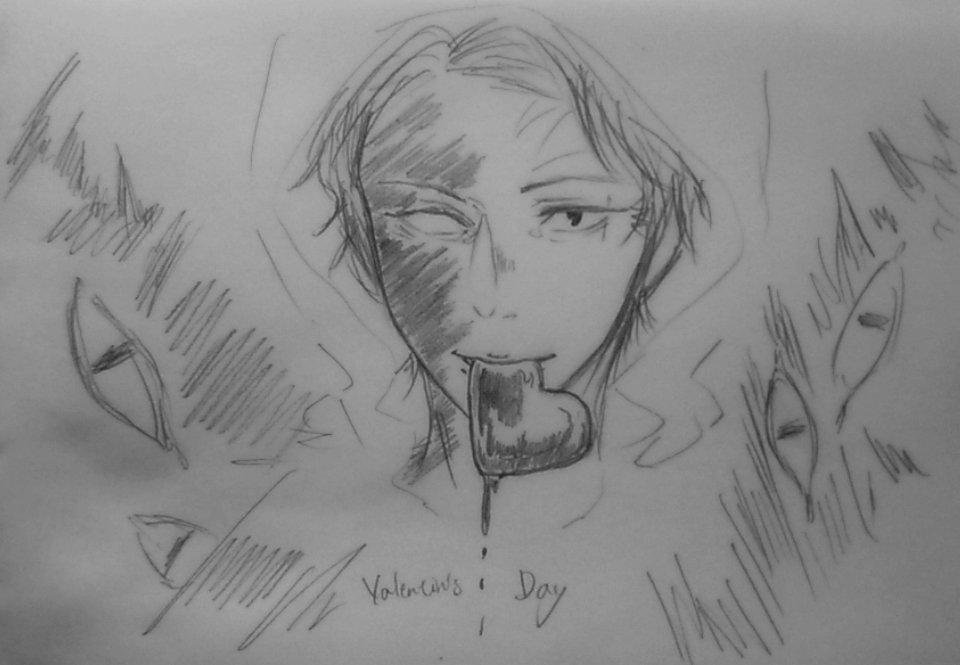 「喰うぞ」・不穏なバレンタイン_シリーズ #影鰐