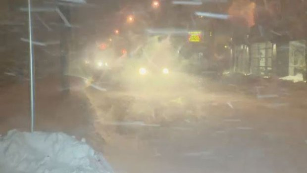 Potent winter storm shutters Atlantic Canada schools, offices
