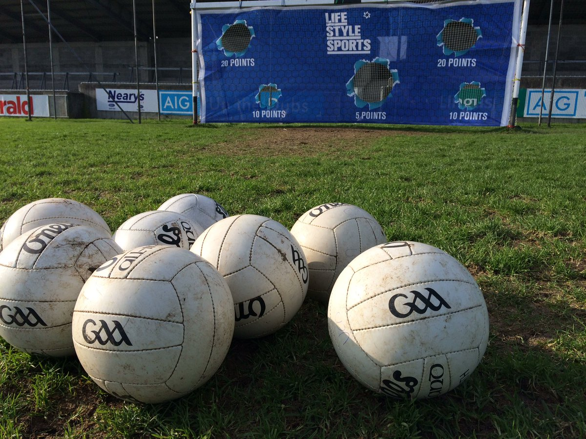 We're in Parnell Park today with @PUMA & @officialdublin to test the new evoTouch! #PlayLoud https://t.co/piuXnVPQrJ