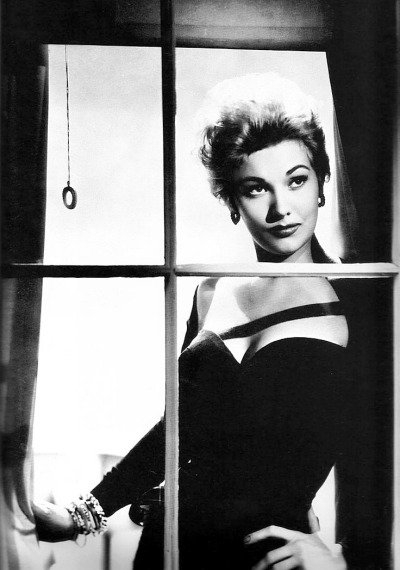 Happy Birthday Lady Kim Novak! in a publicity photo for Pushover  [Richard Quine - 1954], her first film