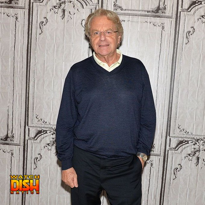 Happy 73rd birthday to Jerry Springer