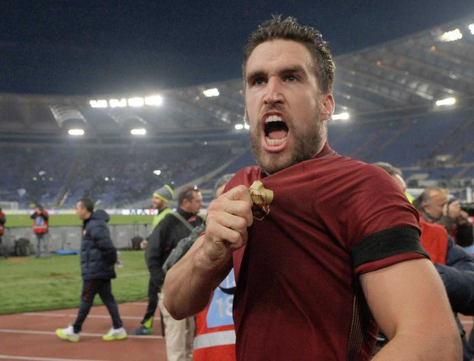 Happy birthday to a true warrior, Kevin Strootman.   Auguri Kevin!!