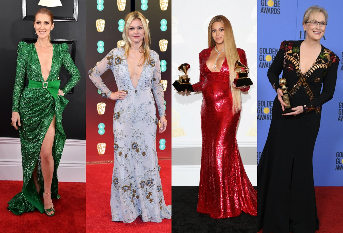 Take a look at this year's hottest red carpet fashion trends https://t.co/iCJQYByT6B #fashion #beyonce #MerylStreep