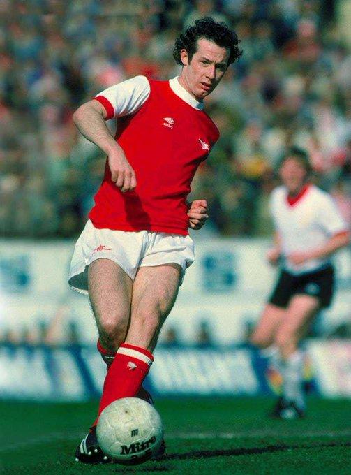 Happy Birthday to Arsenal legend, Liam Brady!