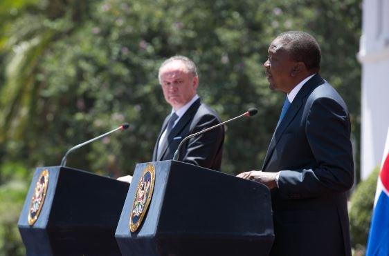 We are optimistic Kenyan exports to Slovakia will increase, says President Kenyatta