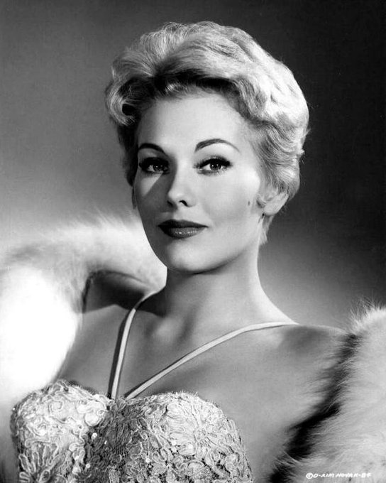 Happy 84th Birthday to the legendary actress Kim Novak!