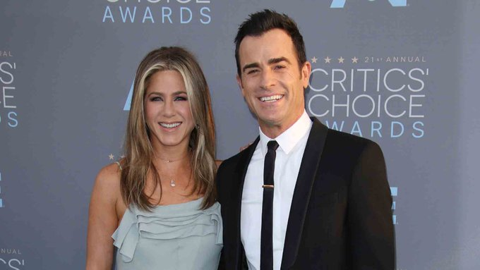 Justin Theroux sent the *sweetest* birthday message to Jennifer Aniston