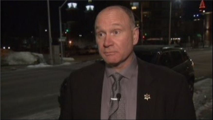 Sheriff outraged after being forced to disarm before entering hockey arena