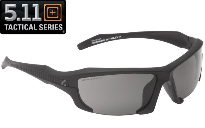 #fashion #free #style #sunglasses #shopping #giveaway 5.11 Tactical Black Burner Half Frame Sunglasses w/ 3 Interchangeable Lenses #rt