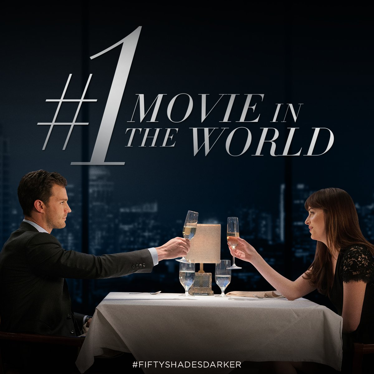 RT @FiftyShades: Make your evening #FiftyShadesDarker and see the #1 movie in the World. https://t.co/SjtEjiAT3G https://t.co/gY6H6SaKjJ