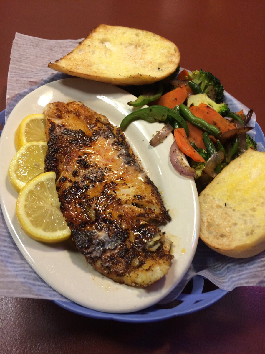 test Twitter Media - Blackened redfish at Lazy Pete's. https://t.co/F6BaI0IhMx