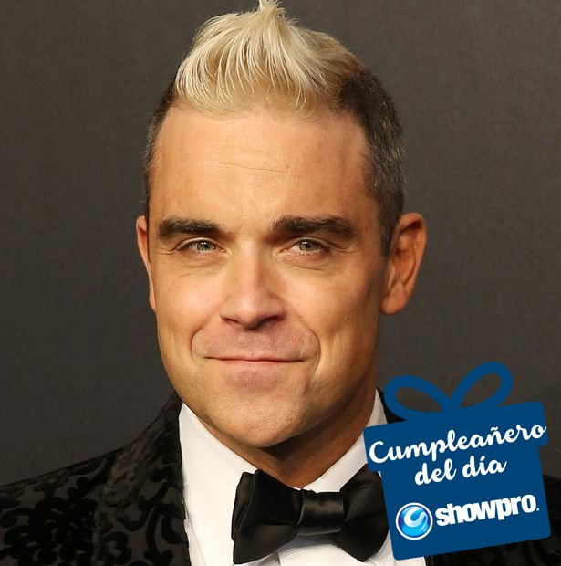 Ha vendido más de 70 millones de discos, tiene 3 Récords Guinness y 2 Grammys, happy birthday Robbie Williams!