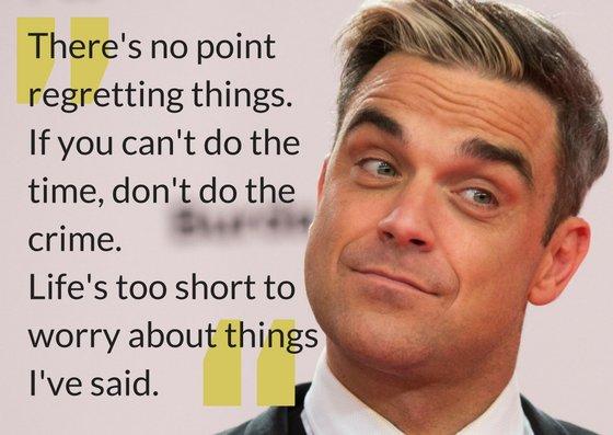 Happy birthday Robbie Williams!