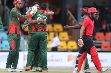 KENYANS OPTIMISTIC: National cricket team keen to beat Nepal