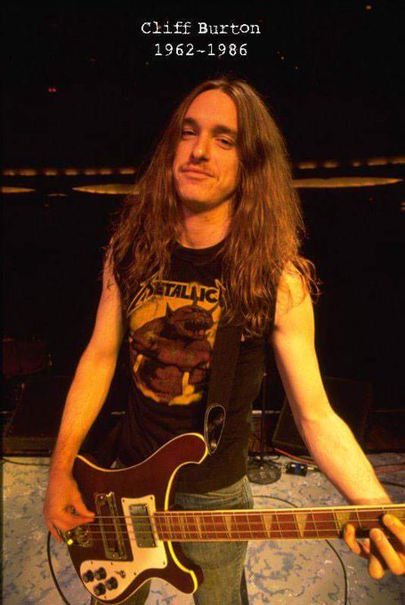 Happy Belated Birthday Cliff Burton!