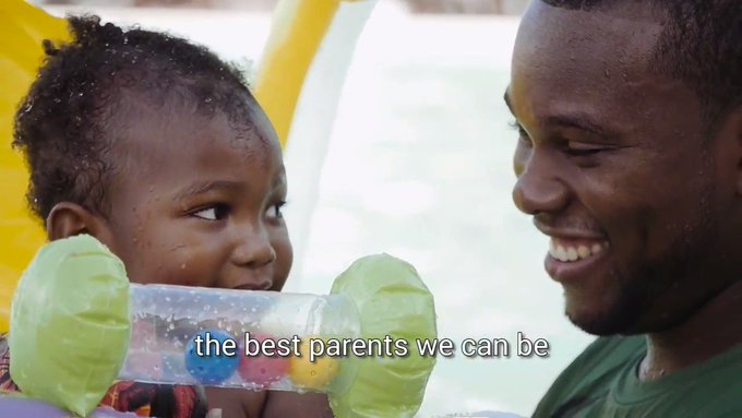 Love \ləv\ noun. Watch how it becomes a verb 💙 #EarlyMomentsMatter