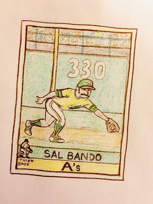Happy 73rd birthday to Sal Bando!