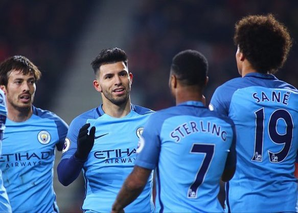 4 in a row✅Let's keep like this guys!Now focus on the next game����I hope @gabrieljesus33 's injury is not serious���� https://t.co/B2CXepQZVH