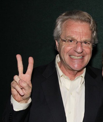 Happy birthday to Jerry Springer you magnificent bastard