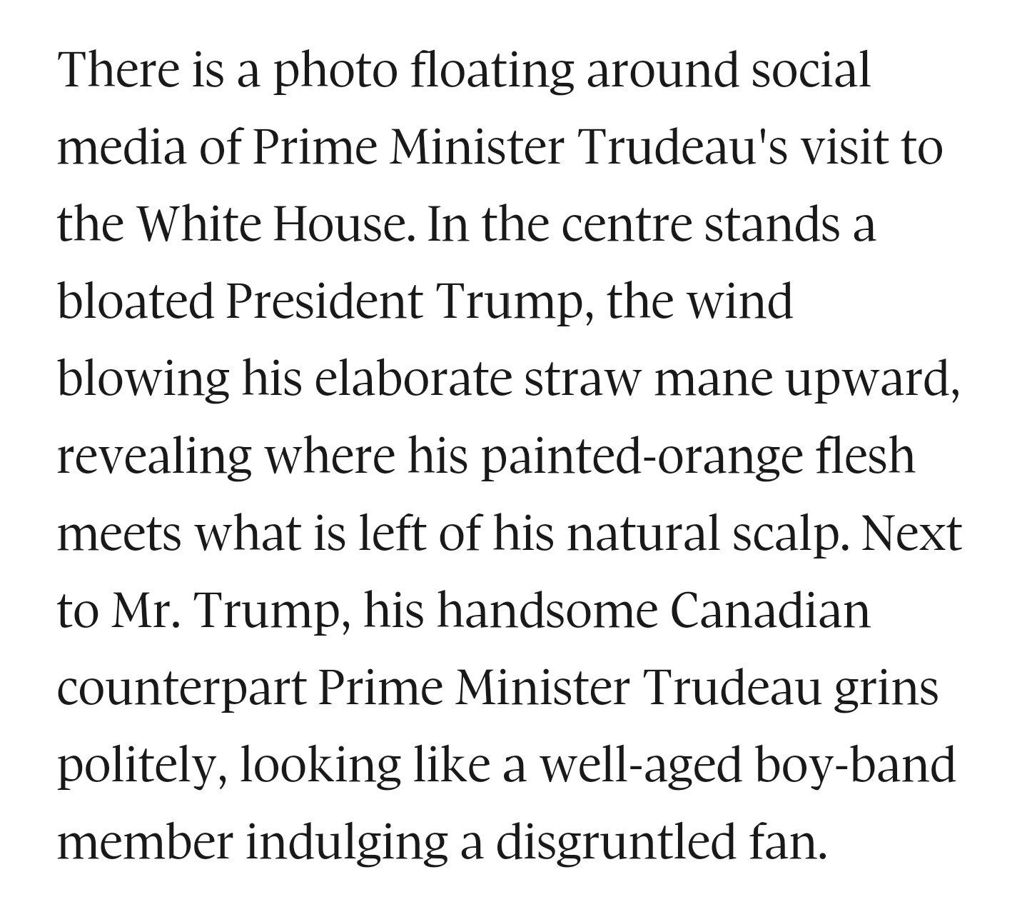 When Trudeau met Trump https://t.co/y9Bgt9aU2E https://t.co/WsWvAFvAVv