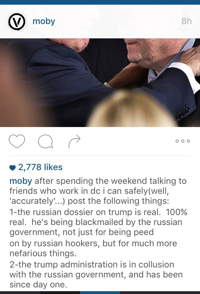 So Moby @thelittleidiot gets it.  It would be interesting to know who his D.C. contacts are.  #RESIST https://t.co/M9d9WQAWgk