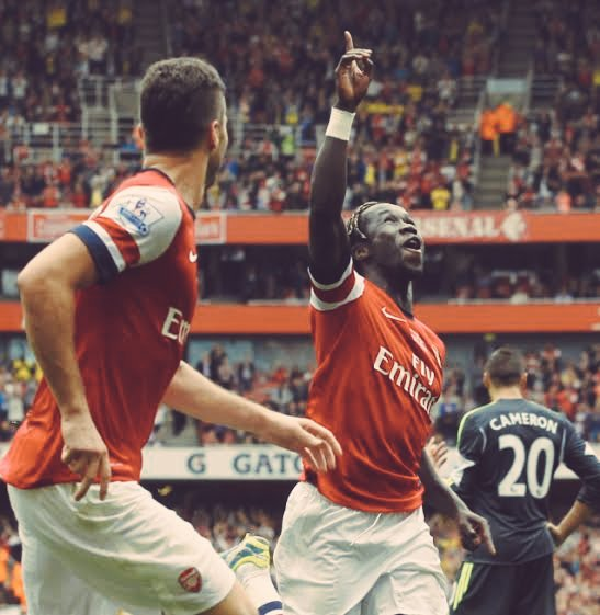 Will always be my fav rb,only one bacary sagna.. Happy bday!