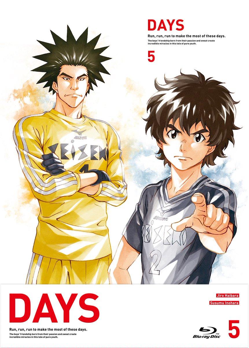 TVアニメ「DAYS」BD/DVD第5巻は、明日2月15日発売です! きゃにめでの2~5巻連動特典は昨年10月に開催され
