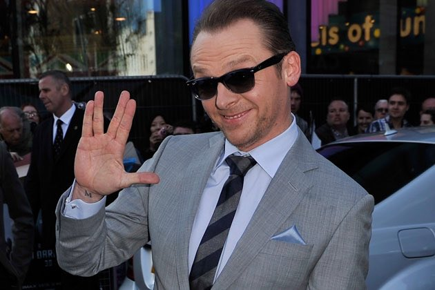 Happy 47th Birthday to Simon Pegg!