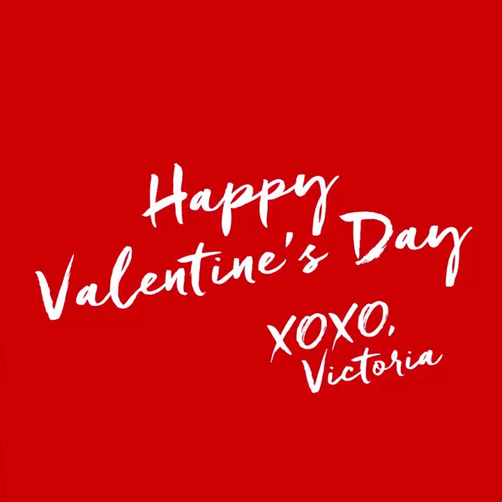 Happy Valentine's Day, Angels! #XOXOVictoria https://t.co/LfeUexmEEc