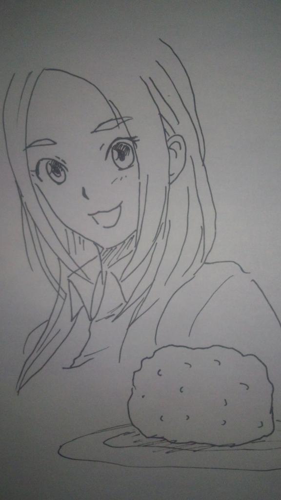なお Happyバレンタイン ってことで作ってみました イカメンチチョコ~圭 マヂか?千夏 なお姉…食べてみて良い?真琴
