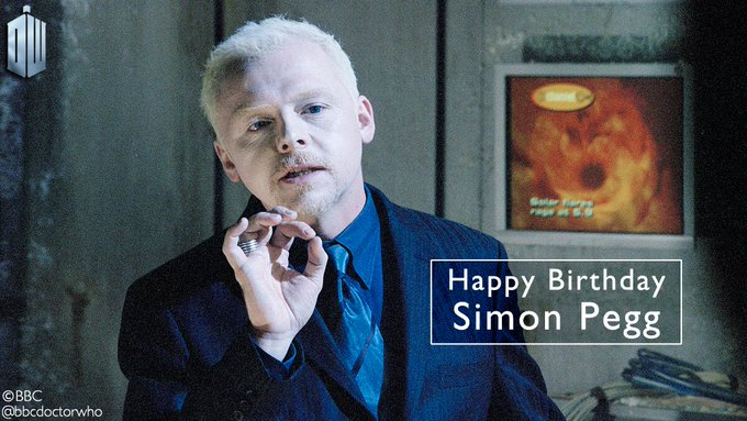 Happy birthday, Simon Pegg - the nefarious Editor in The Long Game!
