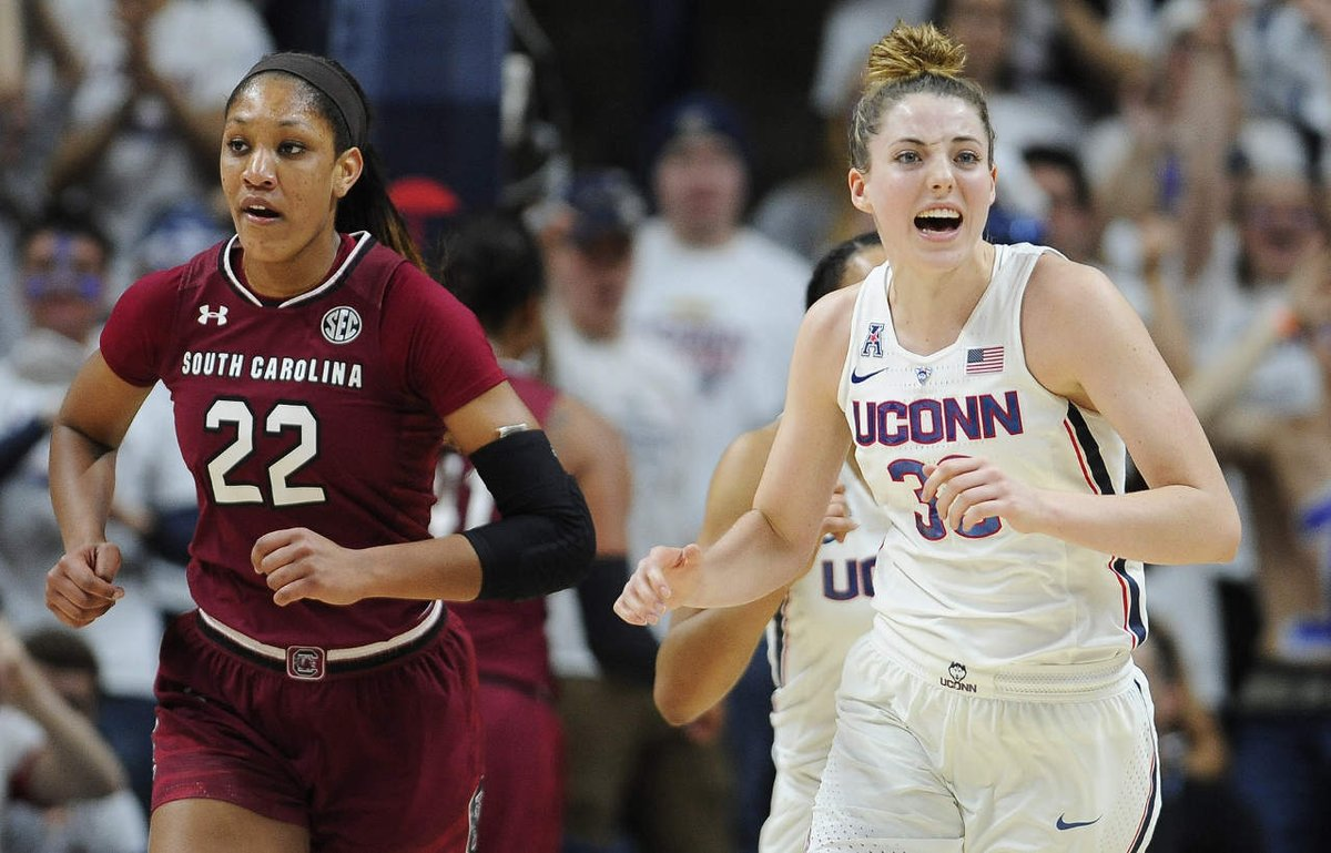 UConn women's basketball picks up 100th consecutive victory