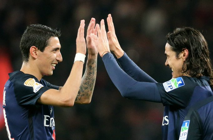 Wish Paris duo Ángel Di María & Edinson Cavani a happy birthday!   Key men tonight for hosts?