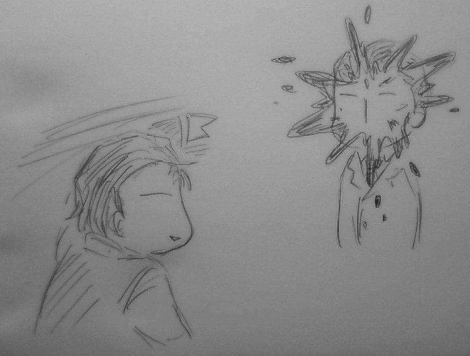 木村氏には逆にこれくらいしないと失礼・不穏なバレンタイン_シリーズ #影鰐