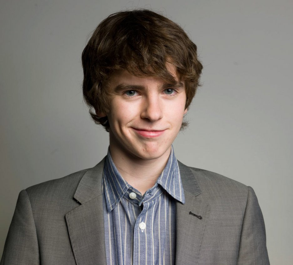 Happy Birthday. Today, Feb 14, 1992 Freddie Highmore, English actor was born.   (