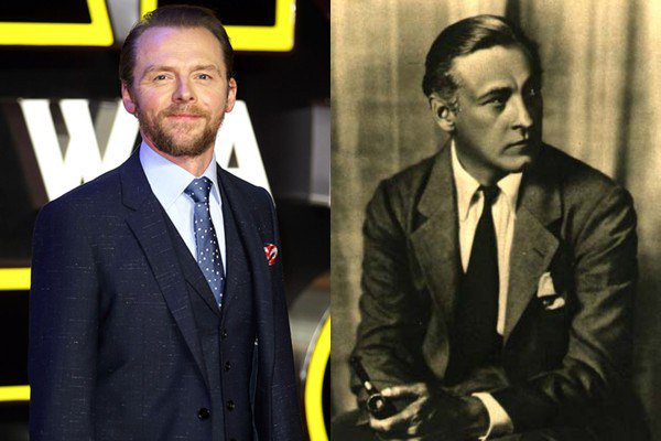 February 14: Happy Birthday Simon Pegg and John Barrymore