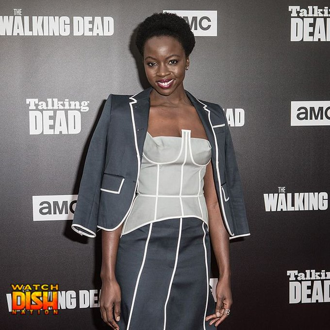 Happy 39th birthday to The Walking Dead star Danai Gurira aka MICHONNE!