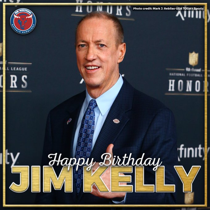 Happy birthday to the greatest Bills quarterback of all time,