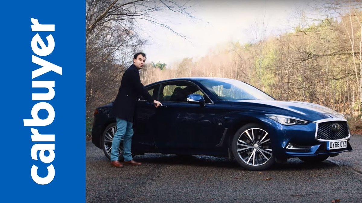 Infiniti Q60 coupe review - Carbuyer - Dauer: 9 Minuten, 21 Sekunden