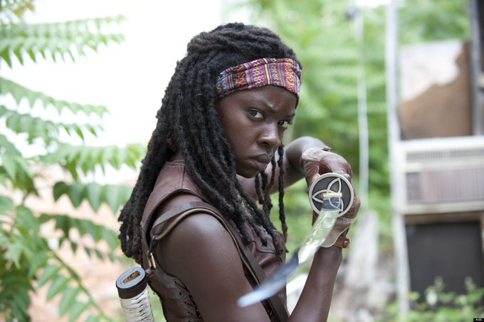 Big Happy Birthday Shout-Out To THE WALKING DEAD\s DANAI GURIRA!